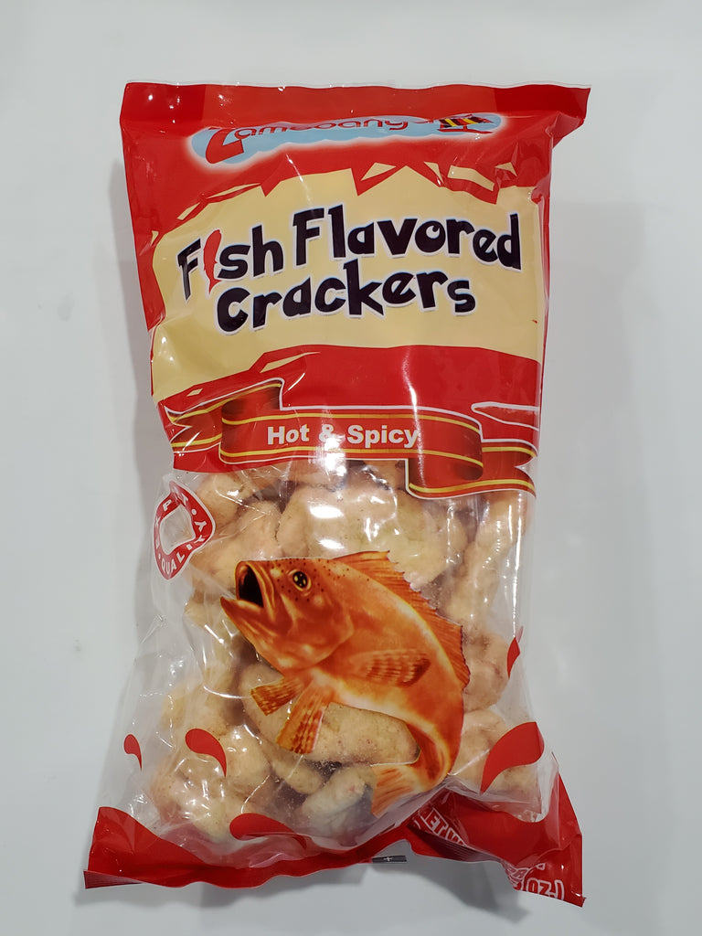Zamboanga Fish Crackers Hot & Spicy 100g