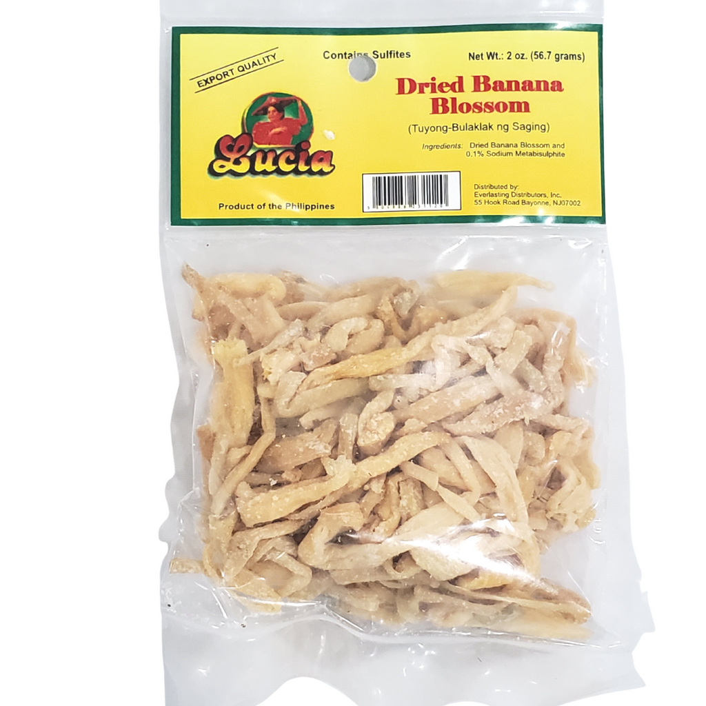 Lucia Dried Banana Blossom 2oz (56.7g)