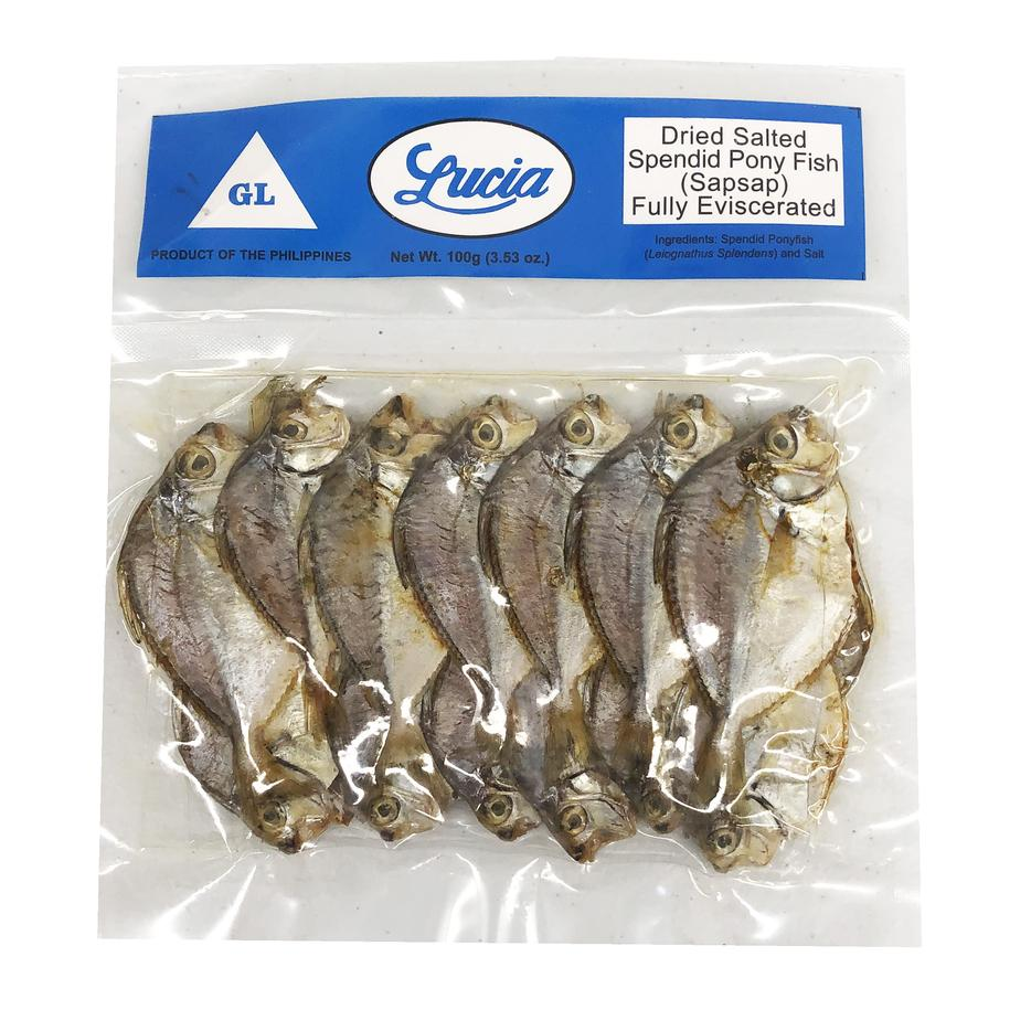 Lucia Dried Ponyfish (Sap-sap) 3.52oz
