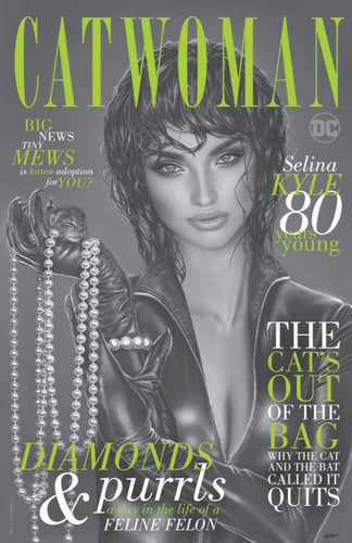 Catwoman 80th Anniversary Natali Sanders Secret Cover
