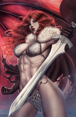 Red Sonja #15 Ariel Diaz Virgin Cover