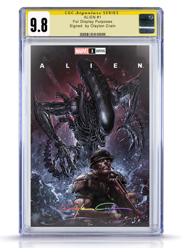 IC CGC Infinity 9.8 Clayton Crain Alien #1 Trade Dress Cover