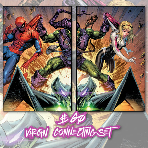 Amazing Spider-Man #47 Tyler Kirkham 2 Pack Virgin Connecting  Covers