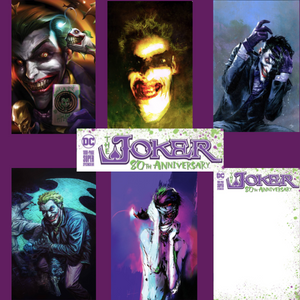 JOKER 80TH ANNIV 100 PAGE SUPER SPECTACULAR BUNDLE #1 10 Pack