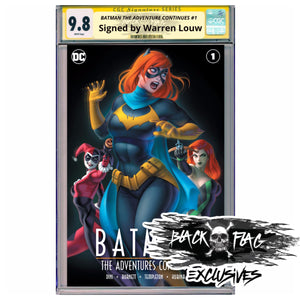 CGC 9.8 Signature Series Cover A Batman the Adventure Continues #1