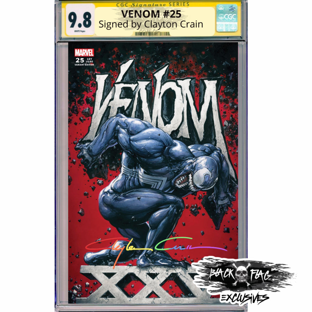 Infinity Edition CGC Signature Series Venom #25 Cover A 9.8