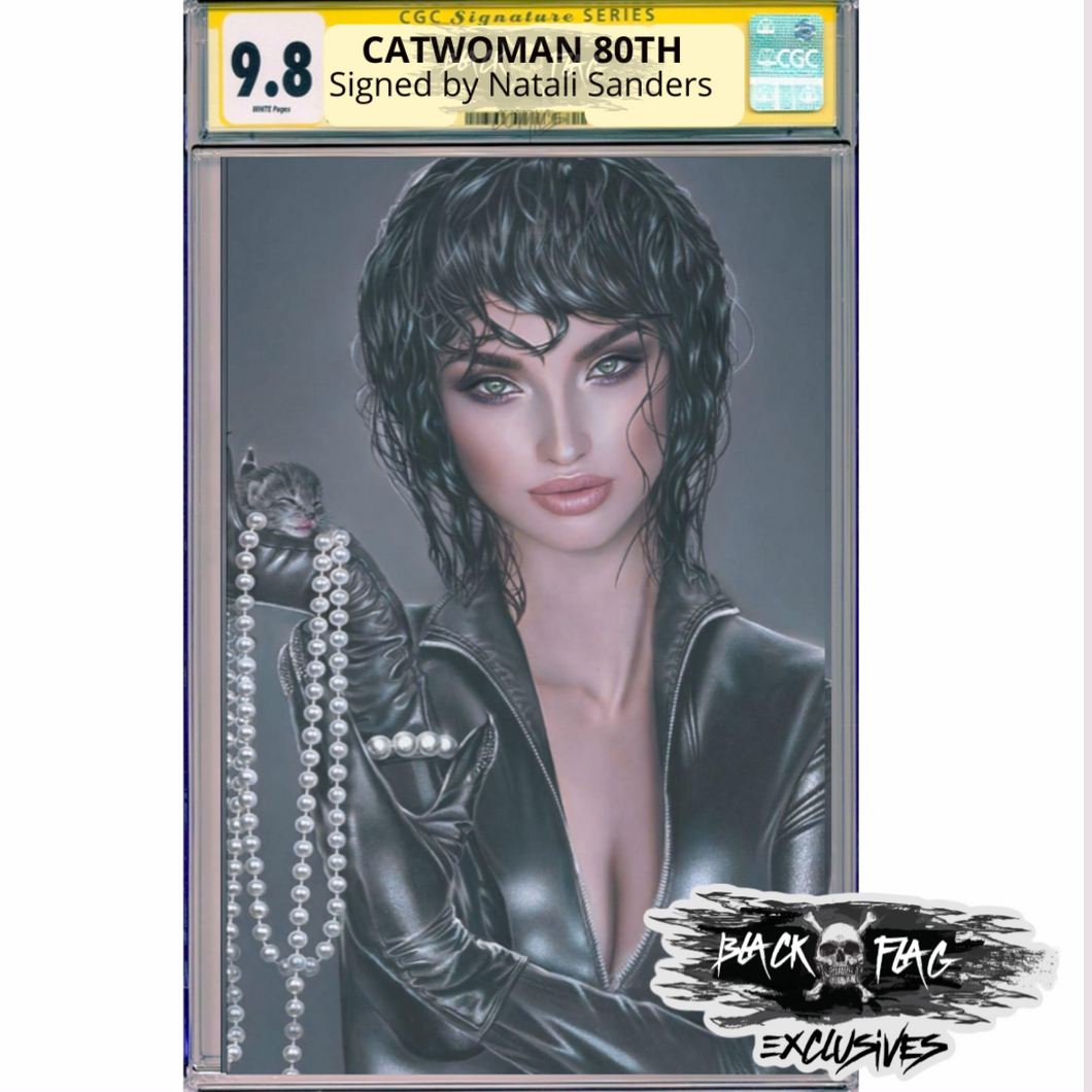 CGC Signature Series  Cover B Catwoman 80th Anniversary Natali Sanders Cover