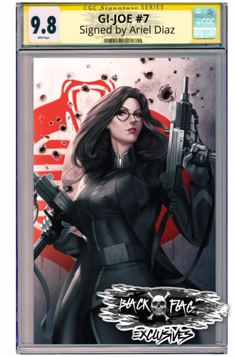 CGC Signature Series Gi-Joe #7 Baroness Virgin Cover Ariel Diaz