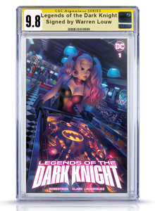 Legends of the Dark Knight #1 CGC Signature Series Trade Dress 9.8