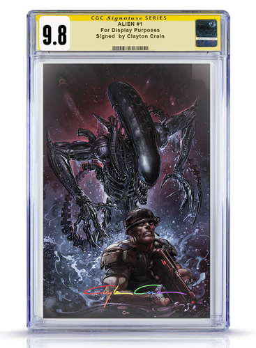 IC CGC Infinity 9.8 Clayton Crain Alien #1 Virgin Cover