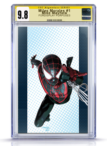 IC CGC Signatures Series Virgin 9.8 Miles Morales  Mike Mayhew