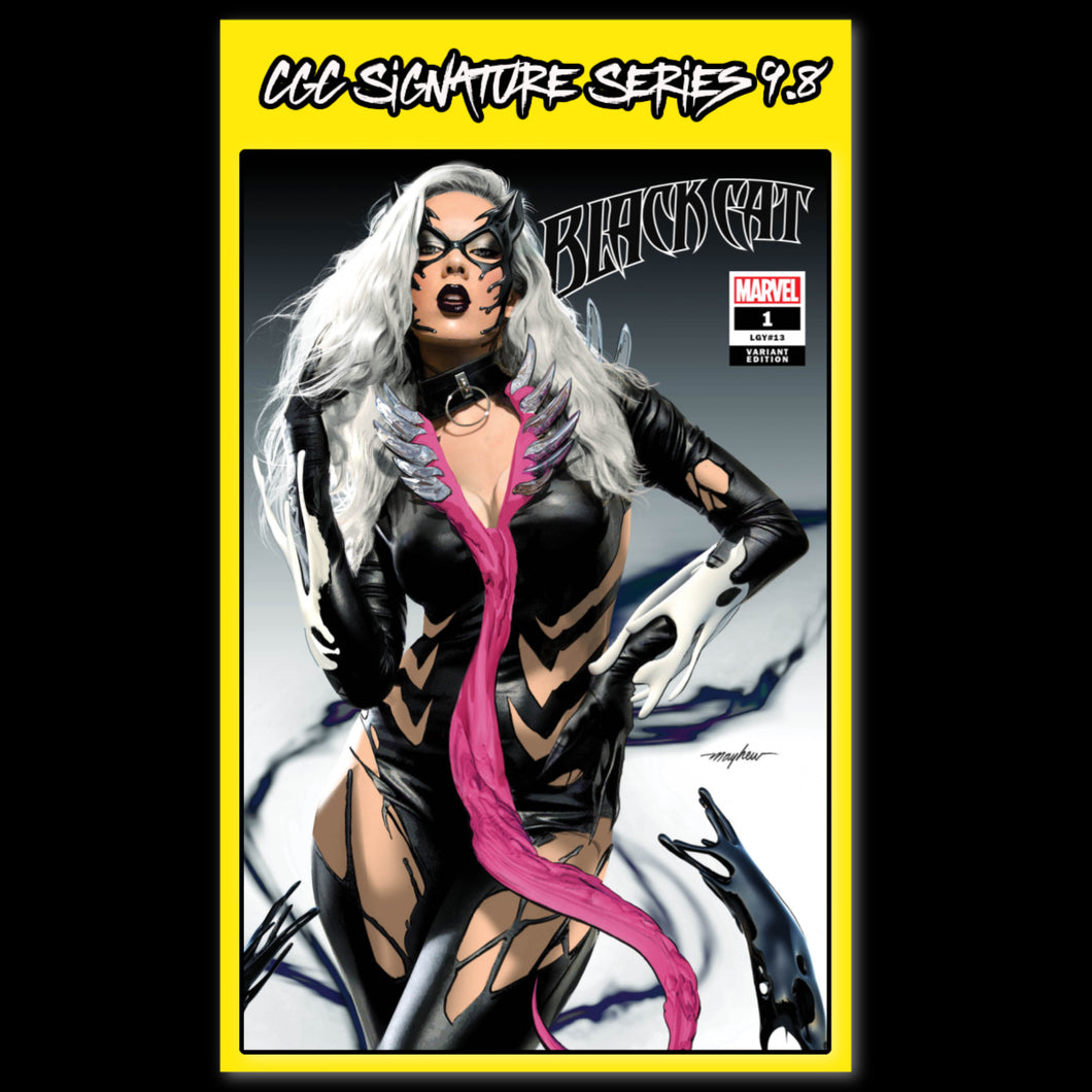 CGC Signature Series Trade Dress Black Cat #1 Mike Mayhew