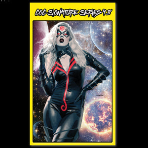 CGC Signature Series Virgin Variant Black Cat #1 Mike Mayhew