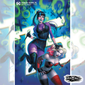 Harley Quinn #75 Warren Louw Cover Art