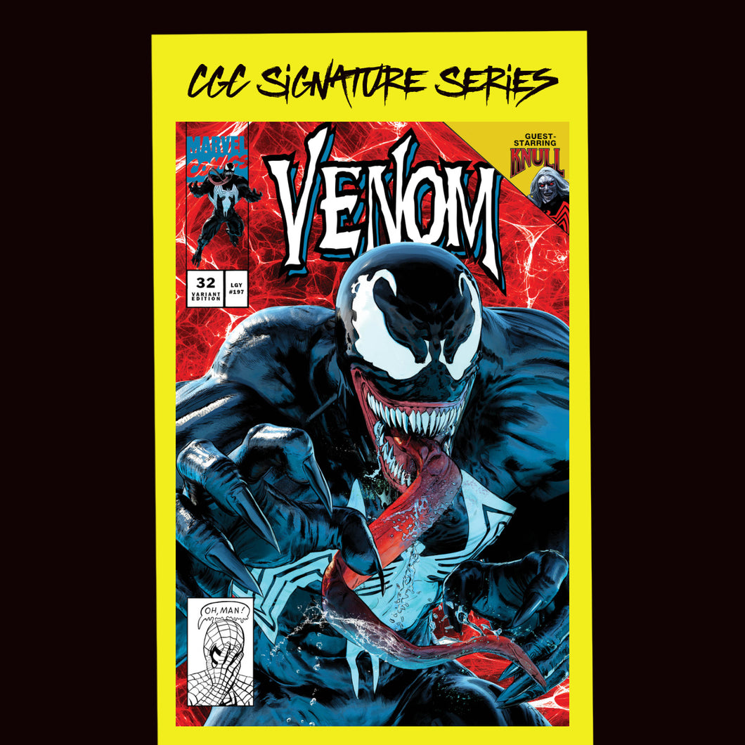 Cover A CGC Signature Series  Venom #32 Mike Mayhew