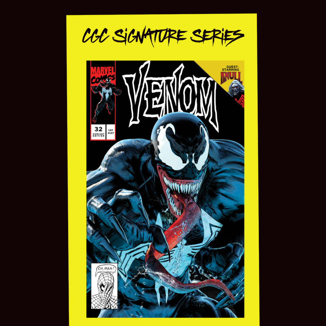 Cover C CGC Signature Series Venom #32 Mike Mayhew