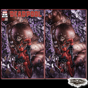 Deadpool #1  Clayton Crain Cover Art