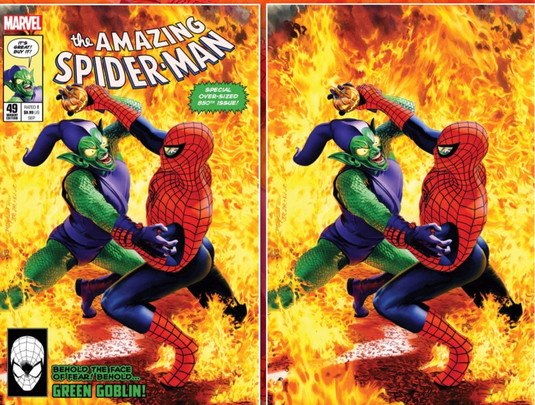 Amazing Spider-Man #49 Mike Mayhew Cover Art
