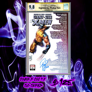 CGC Trade Dress Signature Series 9.8 Giant Size X-Men #1 Skyline Variant