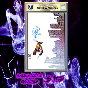 CGC Signature Series 9.8 GIANT SIZE X-Men Skyline Variant Cover B