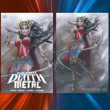 Load image into Gallery viewer, Dark Nights: Death Metal #1 Natali Sanders Cover Art
