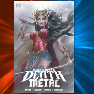 Dark Nights: Death Metal #1 Natali Sanders Cover Art