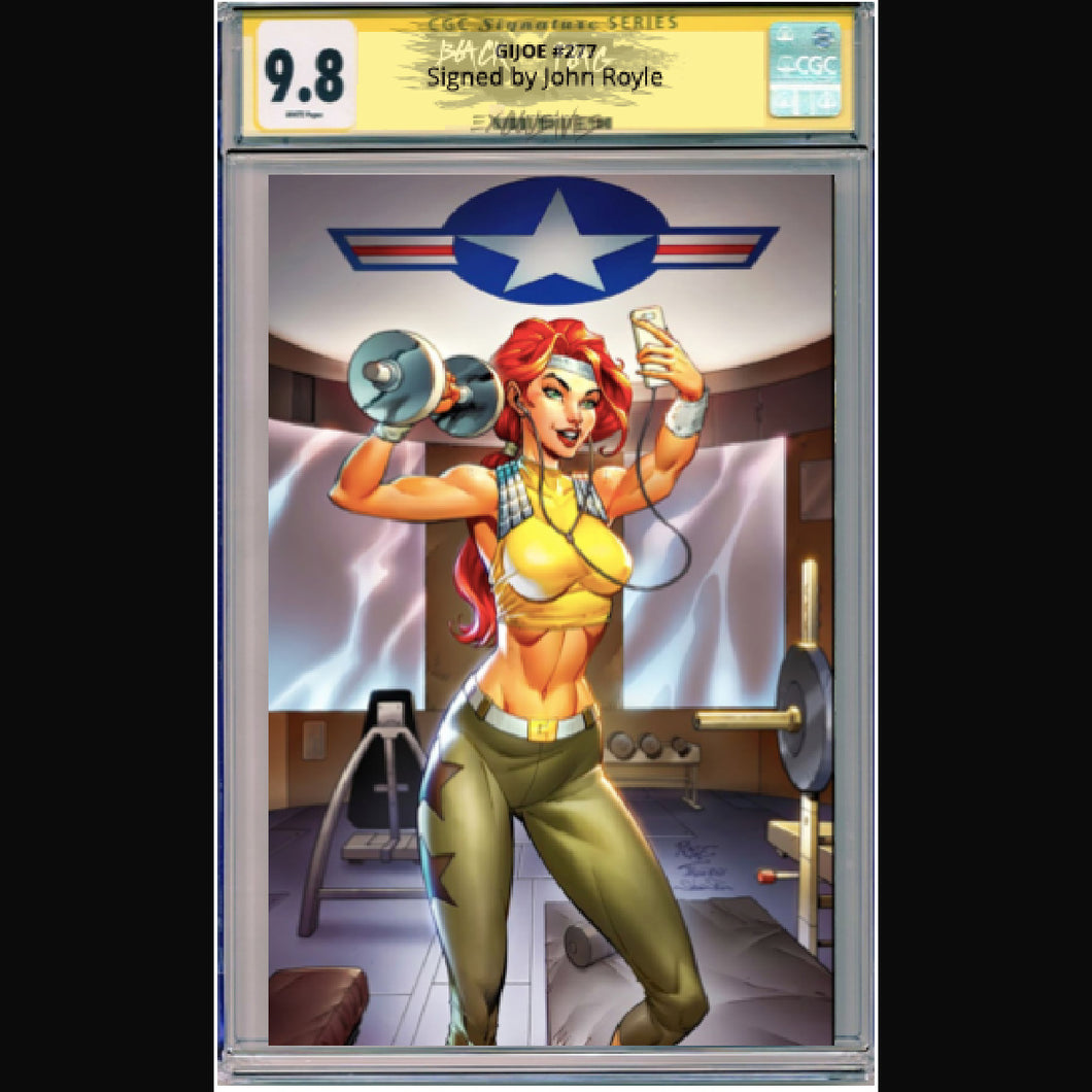 CGC Signature Series 9.8 Scarlett Virgin Cover