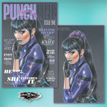 Load image into Gallery viewer, Punchline #1 Natali Sanders Cover Art
