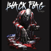 Load image into Gallery viewer, Clayton Crain Black Flag Comics Artist Series Apparel Hoodie