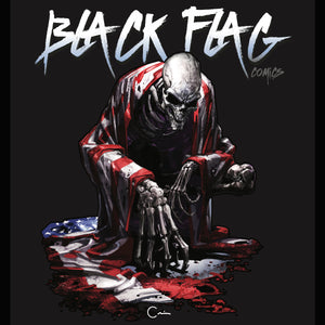Clayton Crain Black Flag Comics Artist Series T-Shirt