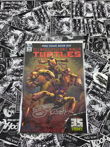 Teenage Mutant Ninja Turtles FCBD 2019 Signed and Remarked by Kevin Eastman