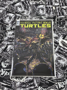 TMNT #61 Sub Cover Signed and Remarked by Kevin Eastman