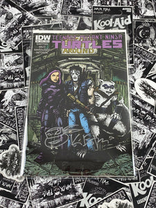 TMNT #46 Cover B Signed and Remarked by Kevin Eastman