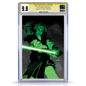 CGC Star Wars High Republic #4 Mike Mayhew Shadow Variant