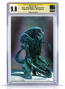IC CGC Signature Series 9.8 Alien #1 Mike Mayhew Cover Art Cover B