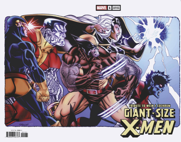Giant Size Xmen Tribute Cover 1:25 Hidden Gem
