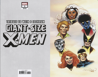 Giant Size X-Men Tribute 1:100 Hidden Gem Variant