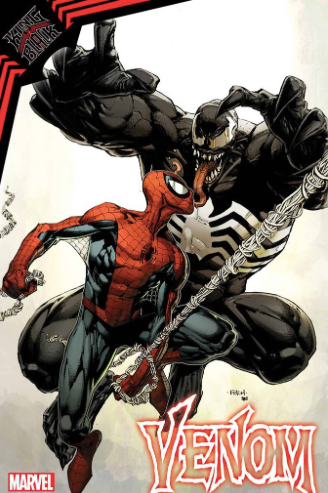 VENOM #33 DAVID FINCH VENOM VS SPIDER-MAN 1:50 VARIANT KIB