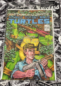 Teenage Mutant Ninja Turtles #12 1987 Signed and Remarked by Kevin Eastman