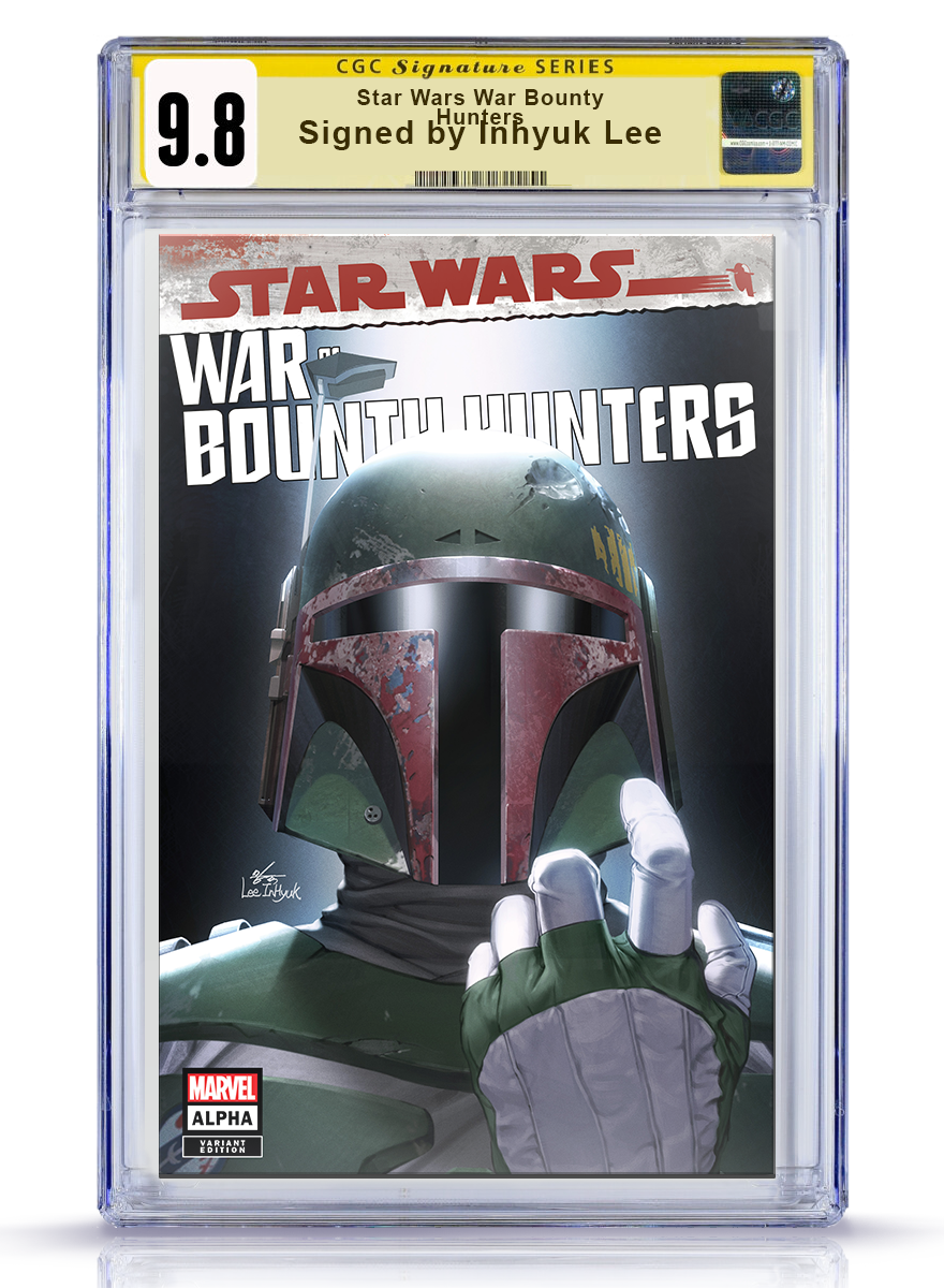 CGC 9.8 Signature Series Trade Dress Star Wars: War of the Bounty Hunters #1