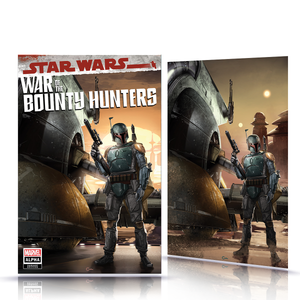 IC Star Wars War of the Bounty Hunter #1 Alpha Clayton Crain