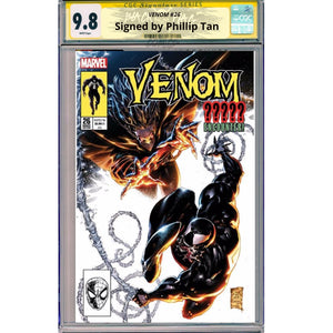 Venom #26 CGC Signature Series 9.8 Retro Cover