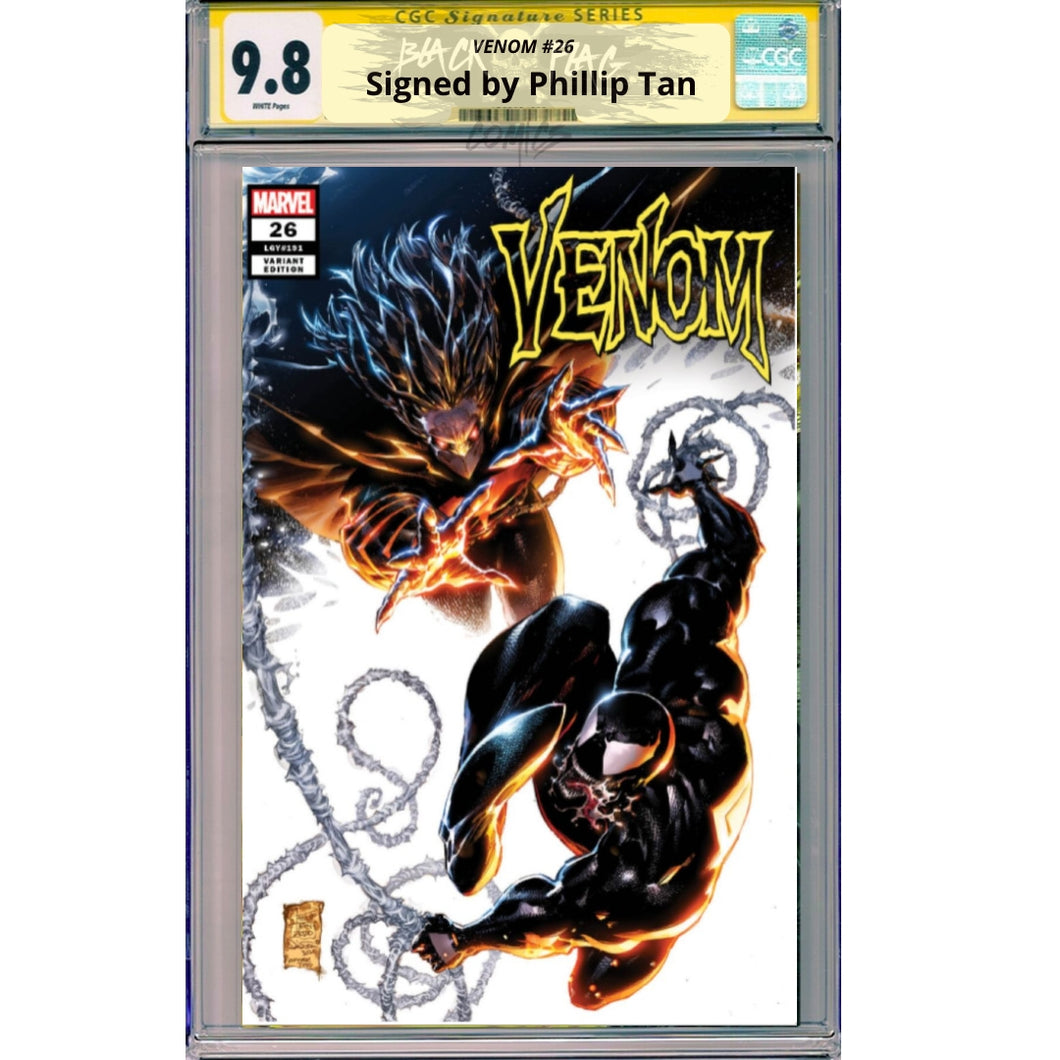 Venom #26 CGC Signature Series 9.8 Philip Tan Cover A