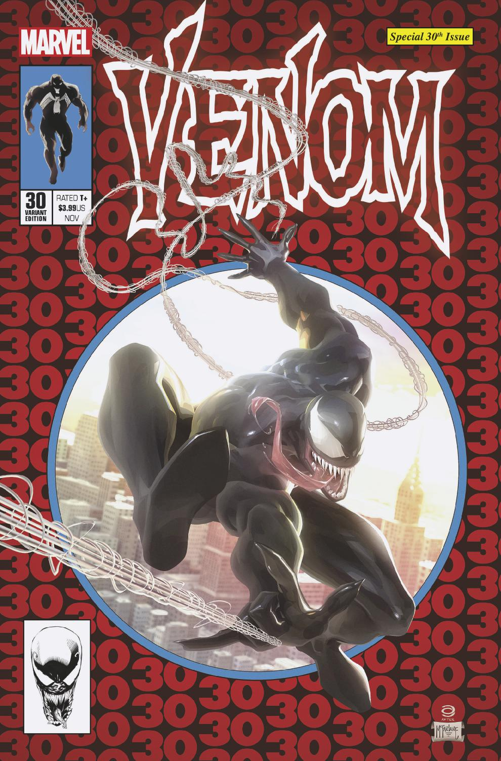 Venom #30 Alex Garner Cover Art