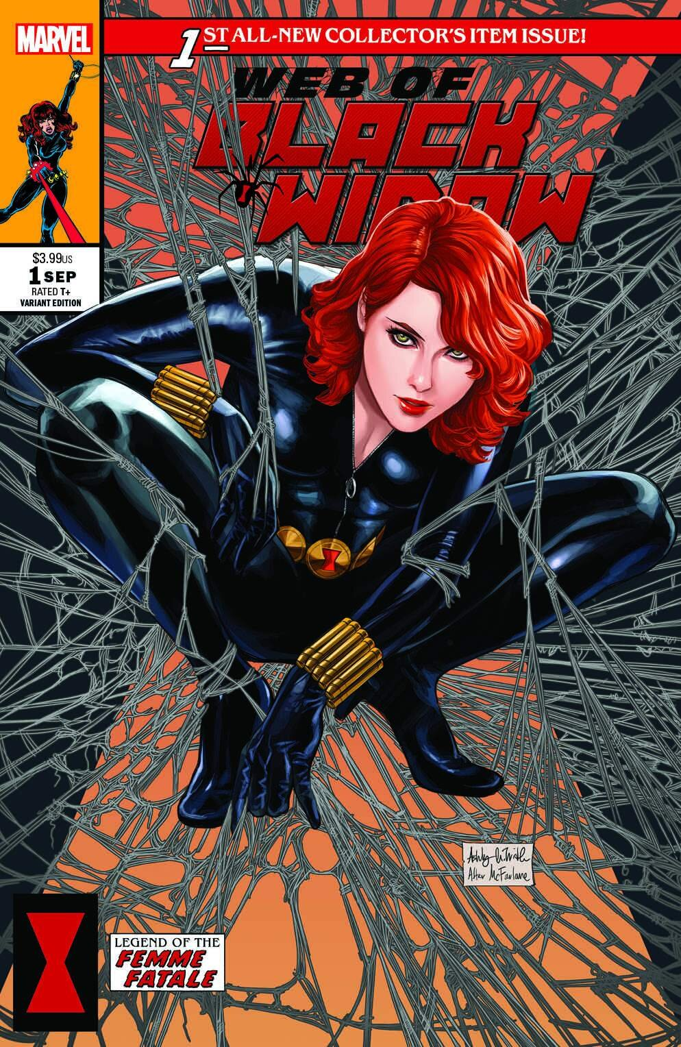 Web Of Black Widow #1 (Witter)
