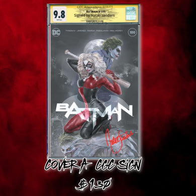 CGC Signature Series 9.8 Trade Dress Batman #100 Natali Sanders