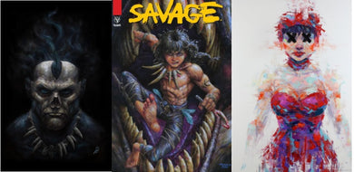 Johnny Desjardins Three Pack Covers Savage #1 Shadowman #1 Dept of Truth #7