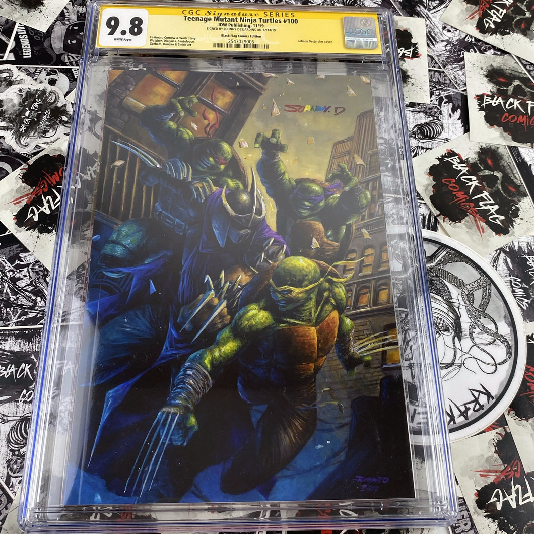 Teenage Mutant Ninja Turtle #100 Johnny Desjardins Exclusive