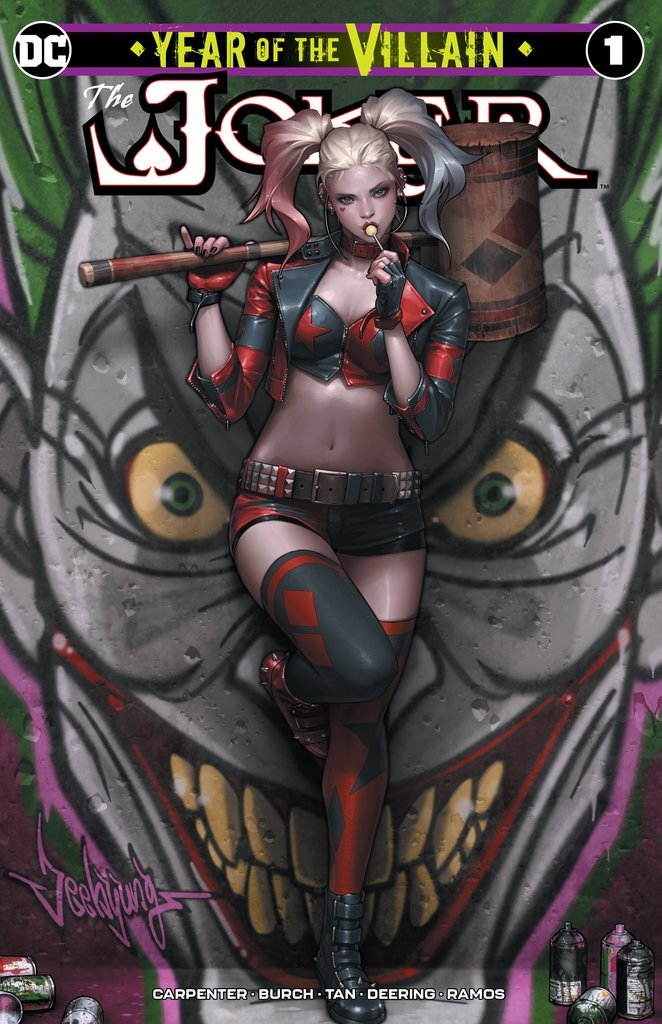 Joker Year of the Villain #1 (Jeehyung Lee)