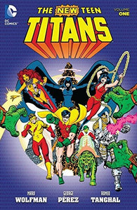 New Teen Titans (1980-1988) Volumes 1-4